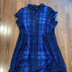 City chic shirt dress